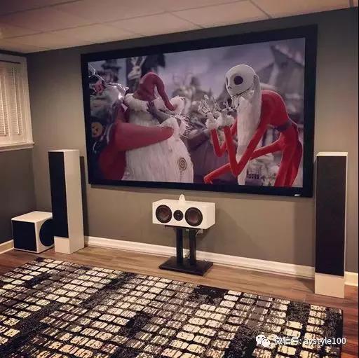 美国著名歌手Vanilla Ice的Truaudio家庭影院