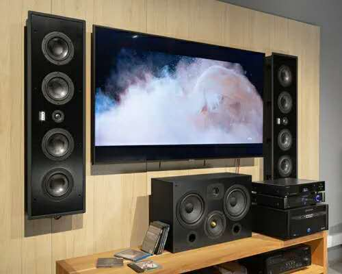 OSD Audio T69 三分频LCR音箱,打造高端定制家庭影院