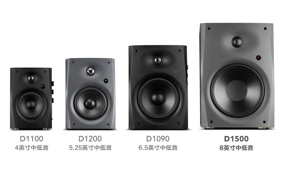 8英寸震撼影音体验-HiVi-Swans D1500高保真有源音箱